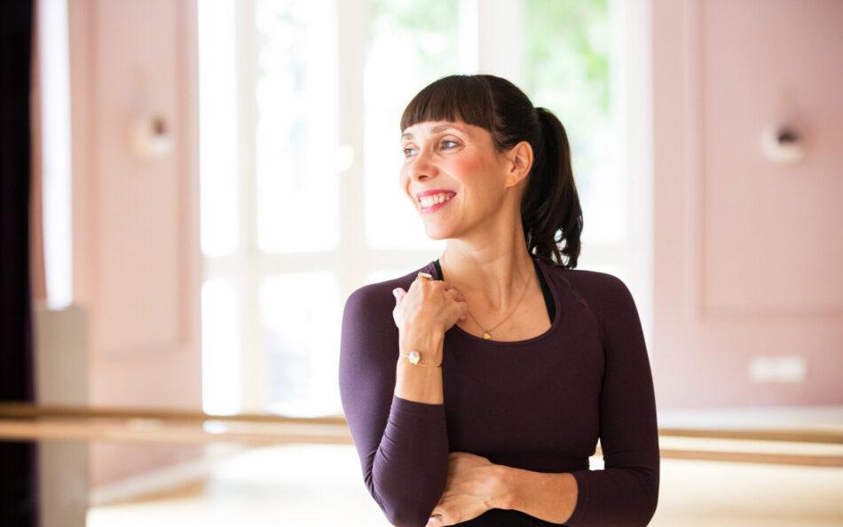 Kristina gönnt sich eine Pause nach dem Babybauch Vital Onlinekurs