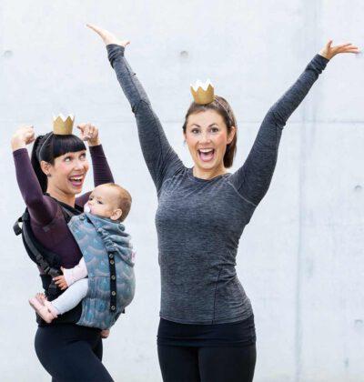 Für aktive Mütter und glückliche Babys. Online Kurse für Rückbildung, Beckenboden-Training und moderne Schwangerschaftsgymnastik