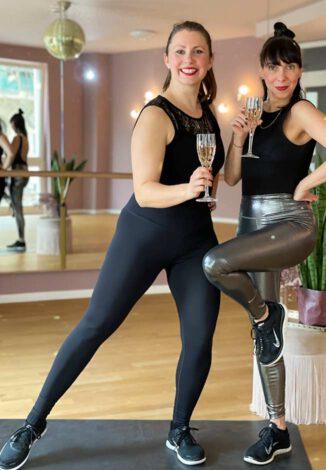 Dance&Prosecco mit Kristina und Anne