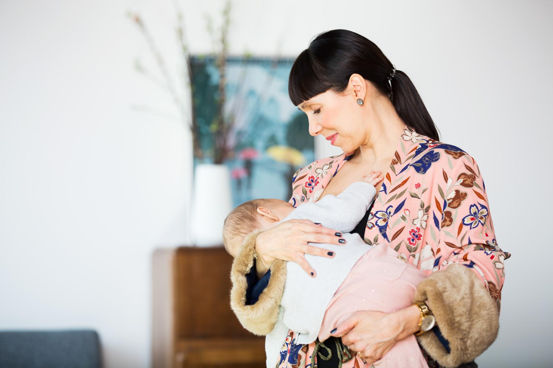 Rückbildung mit Baby bei GLÜCKSMAMA