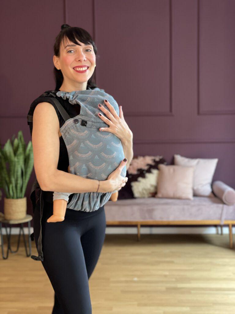 Bewegung mit Baby in der Trage bei GLÜCKSMAMA