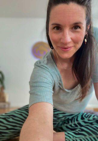 Babymassage mit Nina