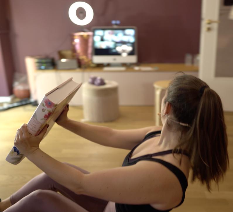 Bodyshape Live-Onlinekurs bei GLÜCKSMAMA
