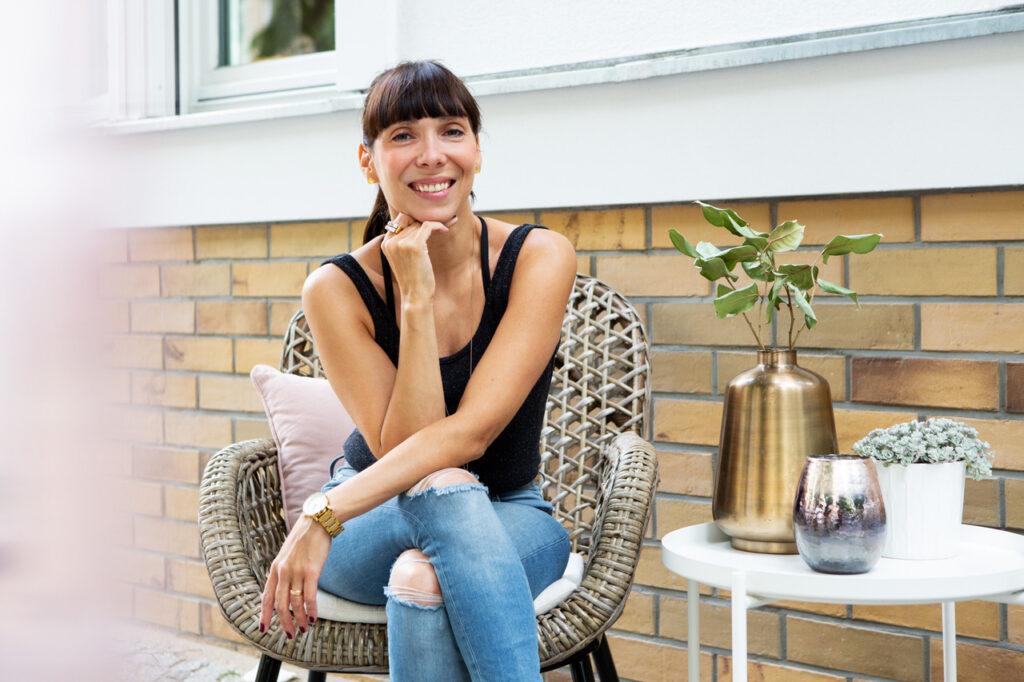Kristina Basiner ist die Gründerin von GLÜCKSMAMA