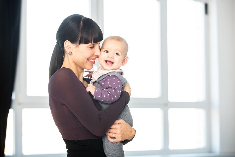Fußreflexzonenmassage bei Babys